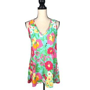 Lilly Pulitzer Gale Tank Top Ants on Parade-  L